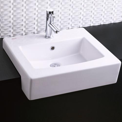 American Standard - Boxe Semi-Countertop Bathroom Sink - White