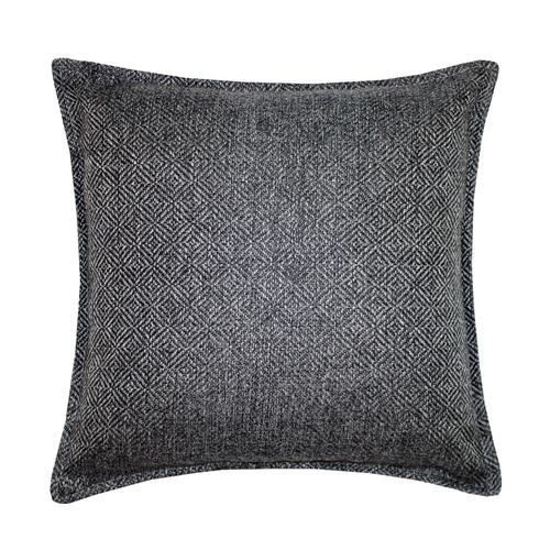 Herringbone Cushion - Grey / Cover Only