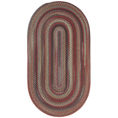 Americana Black Braided Rugs