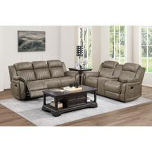 See Details - Double Reclining Sofa & Loveseat with Center Console
