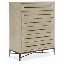 Bedroom Cascade Six-Drawer Chest