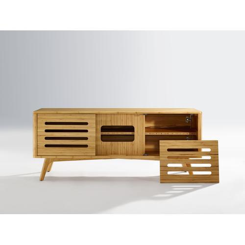 Greenington Fine Bamboo Furniture - Azara Media Cabinet, Caramelized