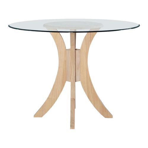 "John Thomas Furniture - Sienna Pedestal Base for Glass Top. Glass sold seperetly (48""Diameter = Glass-48B)."