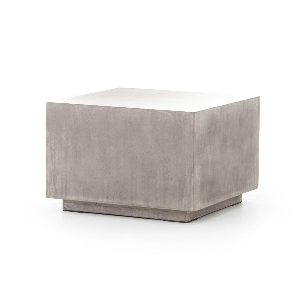 Parish Concrete Cube-grey Concrete