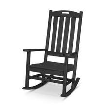 View Product - Nautical Porch Rocking Chair in Black