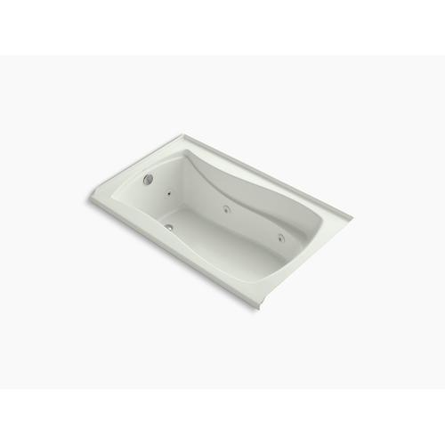 "Dune 60"" X 36"" Alcove Whirlpool With Integral Flange, Left-hand Drain and Heater"