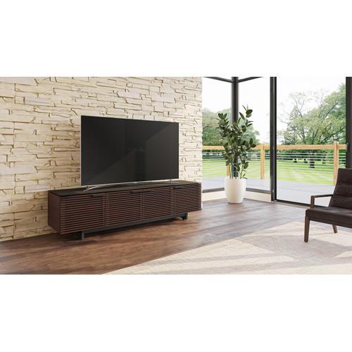 BDI Furniture - Corridor 8173 Media Console in Chocolate Stained Walnut