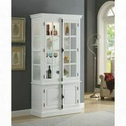 ACME Iovius Curio Cabinet - 90300 - White Product Image
