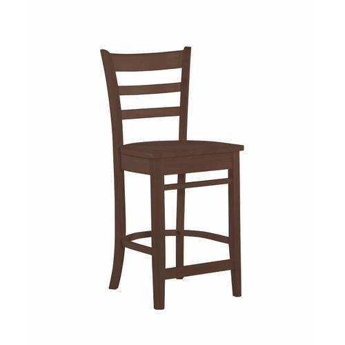 John Thomas Furniture - Emily Stool in Espresso