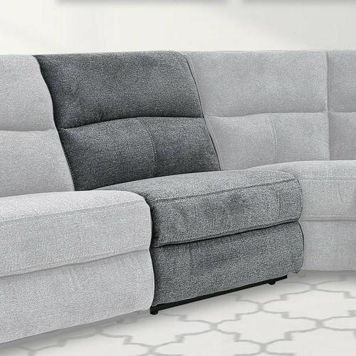 Parker House - POLARIS - BIZMARK GREY Armless Chair