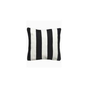 Fab Habitat - Nantucket Indoor Outdoor Decorative Pillow - Black And White