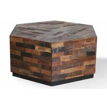 See Details - CROSSINGS THE UNDERGROUND Hexagonal Cocktail Table