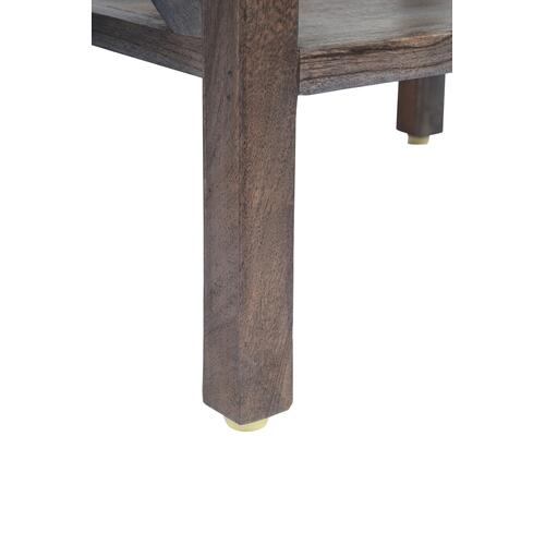 Dylan X Side Accent Table - Slate
