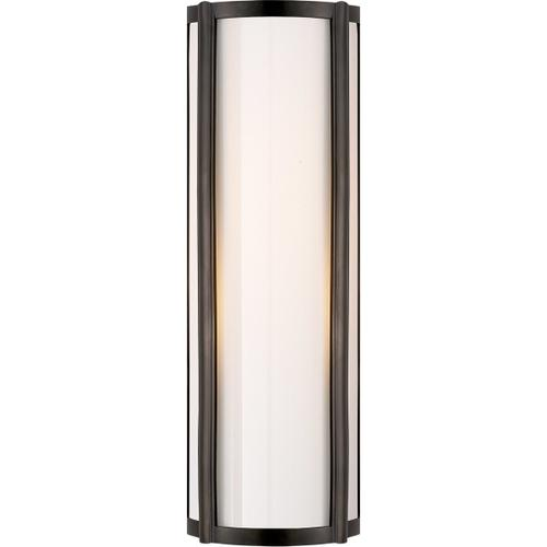 Alexa Hampton Basil 1 Light 6 inch Gun Metal Bath Wall Light