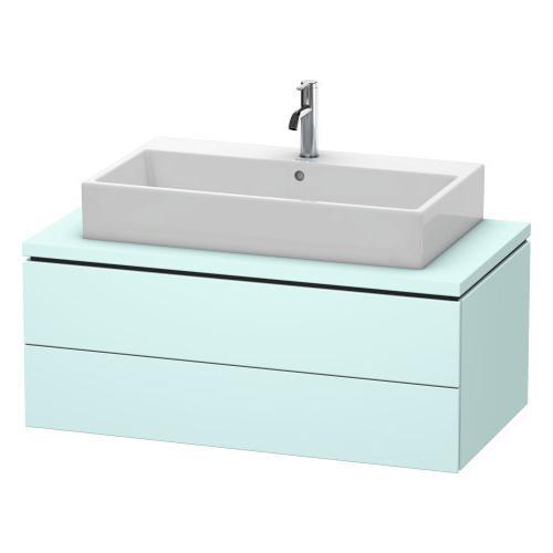 Duravit - Vanity Unit For Console, Light Blue Matte (decor)