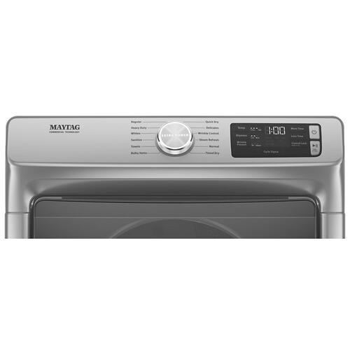 Gallery - Front Load Electric Dryer with Extra Power and Quick Dry Cycle - 7.3 cu. ft.