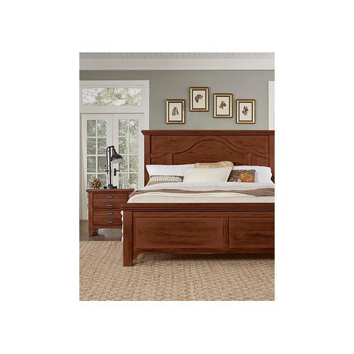 Vaughan-Bassett - King Mantel Bed