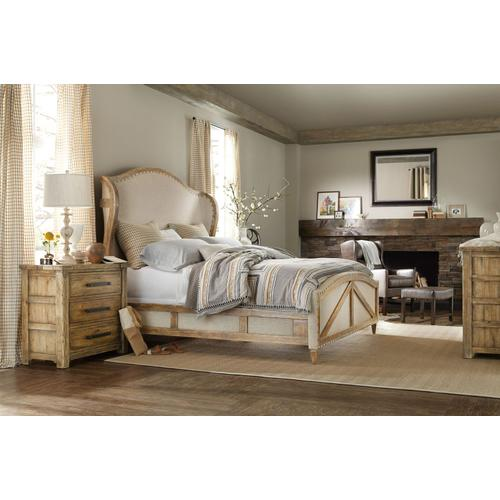 Bedroom Roslyn County 6/0-6/6 Upholstered Panel Footboard