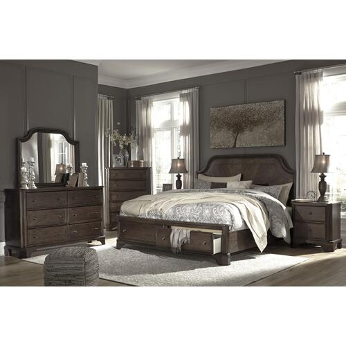 Adinton King Storage Bedframe