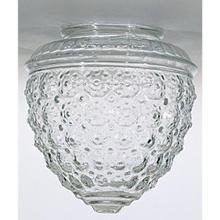Pineapple Glass Shade; 6 in.; x 3-1/4 in.; 5-1/2 in.; Diameter; 3-1/4 in.; Fitter