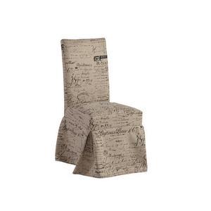 Slipcover Accent Chair (1/Ctn) - Script Finish