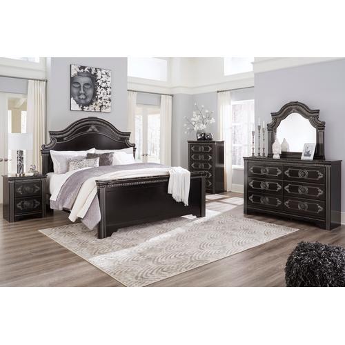 Banalski - Dark Brown 3 Piece Bed (King)