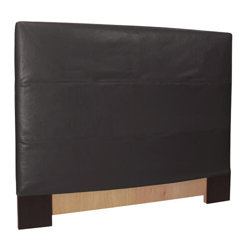 King Slipcovered Headboard Avanti Black (Base and Cover Included)