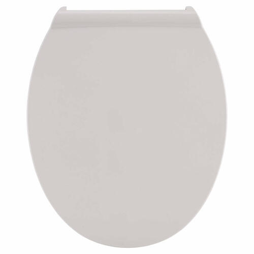 Contemporary Slow-Close Round-Front Toilet Seat with TriVantage  American Standard - White
