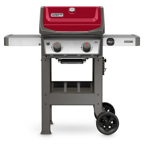 Gallery - Spirit II E-210 Gas Grill Red LP