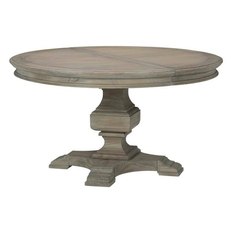 25221 Wellington Estates Round Pedestal Dining Table