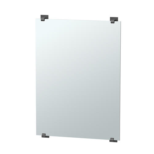 Elevate Minimalist Mirror in Chrome