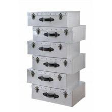 ACME Brancaster Cabinet - 97801 - Industrial - Aluminum, Ply - Aluminum