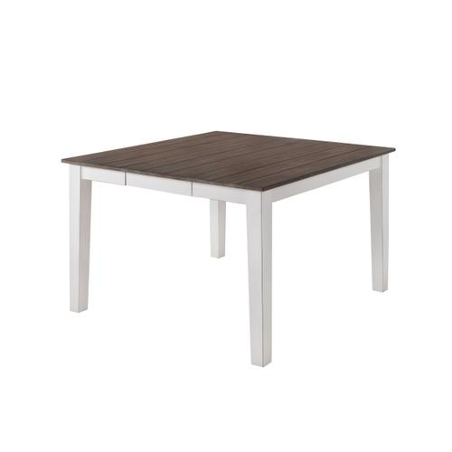 5057-57 COUNTER HEIGHT TABLE - WHITE