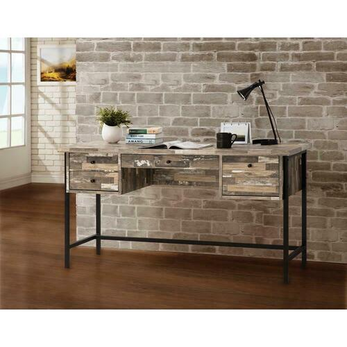 Coaster - Industrial Salvaged Cabin Writing Desk