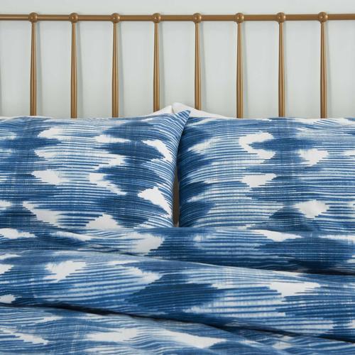 Dreamscape Dsc02 Navy Full/queen 3-piece Bed Set