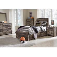 Derekson Twin Bedroom Set: Twin Bed, Nightstand Dresser & Mirror