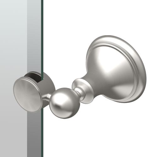 Laurel Ave. Oval Mirror in Polished Nickel