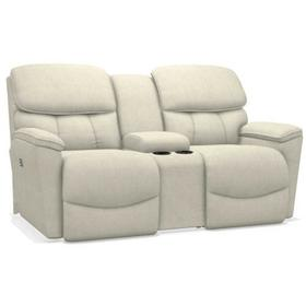 Kipling Power Reclining Loveseat w/ Headrest & Console
