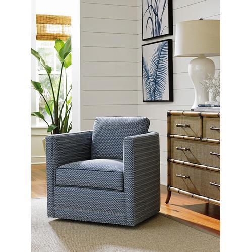Dorado Beach Swivel Chair Dorado Beach Leather Swivel Chair