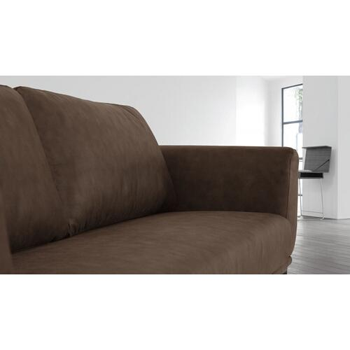 VIG Furniture - Divani Casa Jada - Modern Brown Fabric Loveseat