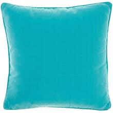 "Outdoor Pillows L9090 Turquoise 18"" X 18"" Throw Pillow"