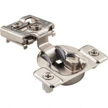 """See Details - 105° 1"""" Overlay Dura-Close® Self-close Compact Hinge with Press-in 8 mm Dowels"""