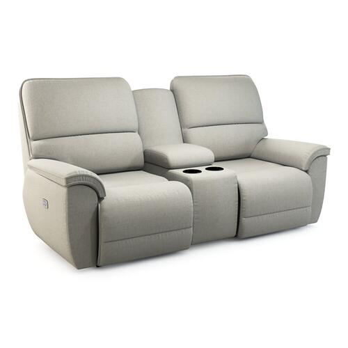 Norris Power Reclining Loveseat w/ Headrest & Console