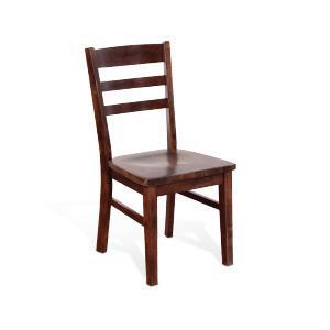 Sunny Designs - Ladderback Chair, Wood Seat