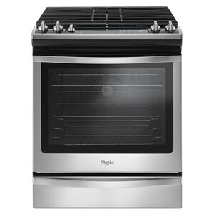 Whirlpool5.8 Cu. Ft. Slide-In Gas Range with EZ-2-Lift Hinged Grates