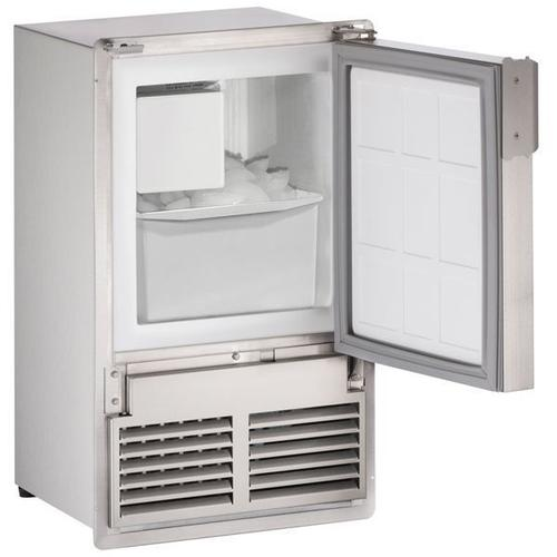 """Ss1095 14"""" Crescent Ice Maker With Stainless Solid Finish (115 V/60 Hz Volts /60 Hz Hz)"""