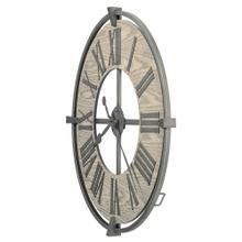 Howard Miller Eli Oversized Iron Wall Clock 625646