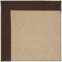 "Creative Concepts-Cane Wicker Canvas Bay Brown - Rectangle - 24"" x 36"""