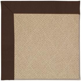 "Creative Concepts-Cane Wicker Canvas Bay Brown - Rectangle - 24"" x 36"""