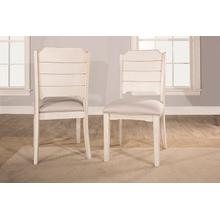 View Product - Clarion Side Dining Chair - Set of 2 - Sea White